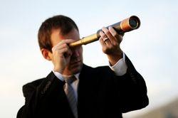 Vision man telescope